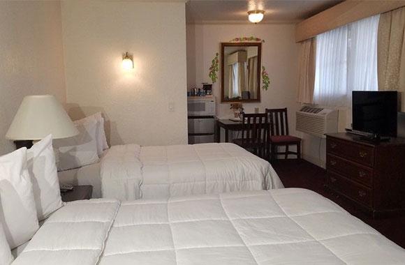 2 Bedroom Suite 3 Queen Size Beds <span>Maximum Occupancy – 2</span>